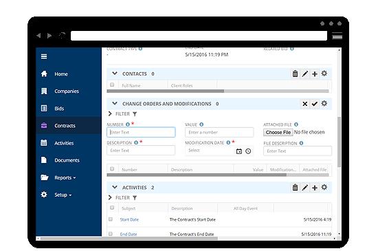 contract management, e-procurement, software