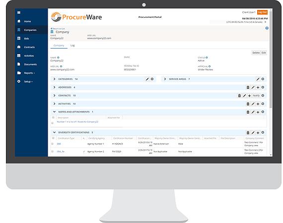 vendor management, qualification, software