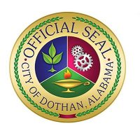 Seal of City of Dothan Alabama